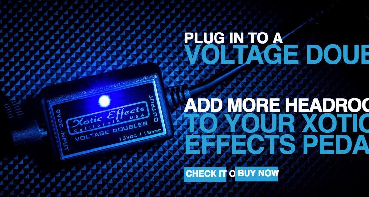 Voltage Doubler - Xotic California